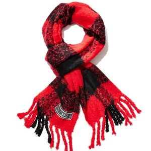 Winter Angel Scarlet Buffalo Check scarf from VS